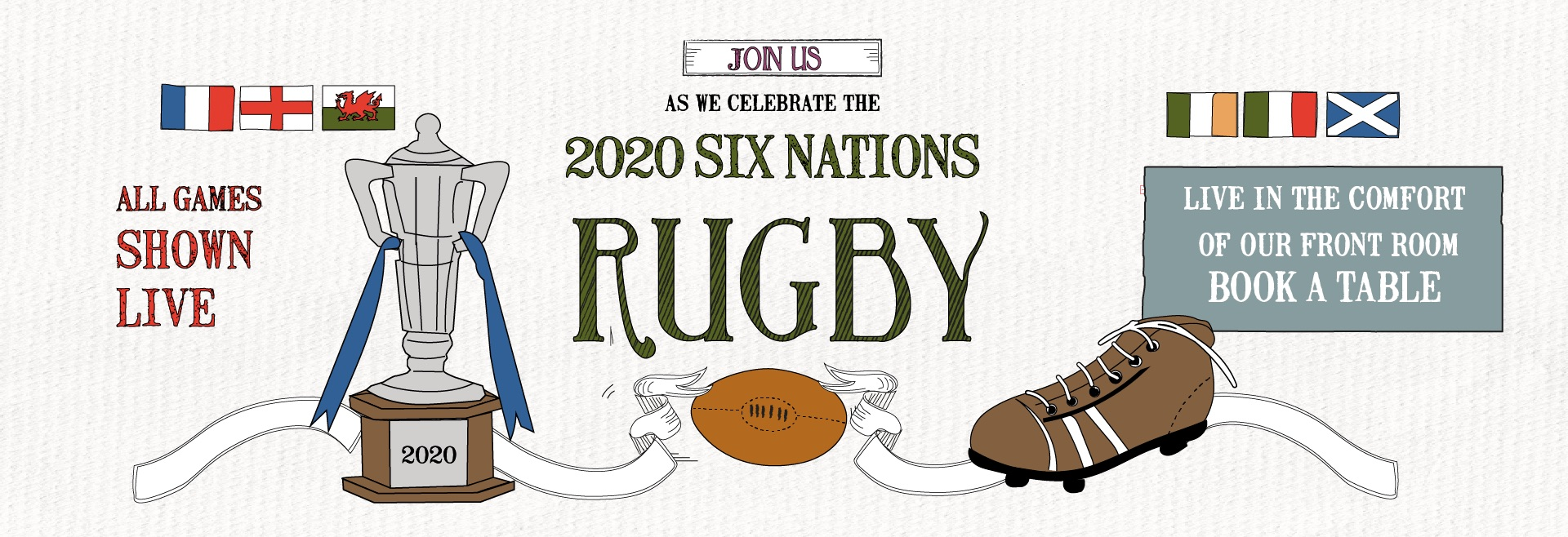 Six Nations at The Plough